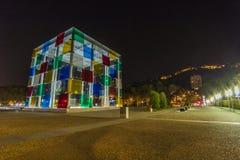 Centre Pompidou, Malaga Fotografia Stock Libera da Diritti