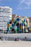 Centre Pompidou Malaga Stock Images