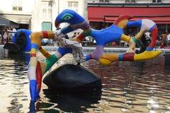 Centre Pompidou, ou Georges Pompidou Center - Paris imagem de stock royalty free