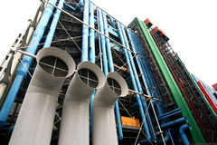 Centre Pompidou in Parijs Royalty-vrije Stock Afbeelding