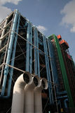 Centre Pompidou in Paris Royalty Free Stock Photo