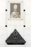 The centre of Pope John Paul II. Cracow , Lagiewniki Stock Image