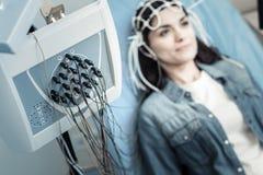 Centre sélectif d'un dispositif diagnostique professionnel Image stock