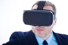 Centre sélectif des verres 3d modernes Image stock