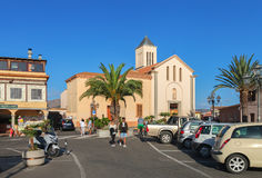 Centre of San Teodoro. Royalty Free Stock Images