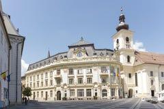 Centre of Sibiu, Romania Stock Photo