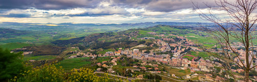 In the centre of Sicily royalty free stock photography