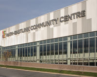 Centre social de Rath-Eastlink Images libres de droits