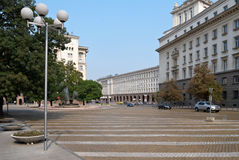 Centre of Sofia, Bulgaria Royalty Free Stock Photo