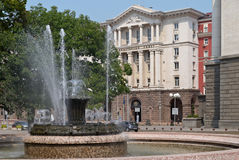 Centre of Sofia, Bulgaria Royalty Free Stock Images