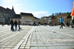Centre square in Brasov Stock Photography