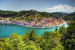Centre of Starigrad royalty free stock photo