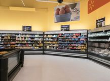 Centre superbe de Walmart photographie stock