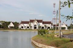 Centre thaïlandais culturel et de travail manuel Photos stock