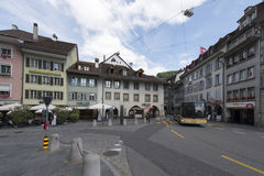 Centre of Thun, Switzerland Stock Images