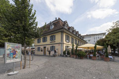 Centre of Thun, Switzerland Royalty Free Stock Images
