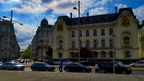 Centre of Vienna. Calm and tranquil atmosphere in the centre of Vienna,Austria Stock Photos