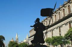 Centre-ville à Guadalajara Image libre de droits