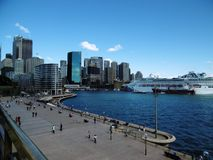 Quartier de   circular Quay sydney Royalty Free Stock Photos