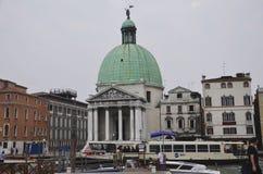 Centre Wenecja miasto Obraz Royalty Free