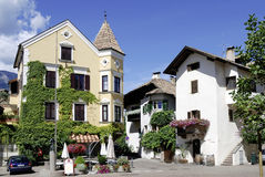 Centre of the wine village of Girlan in South Tyrol Stock Photography