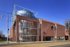 Centrera för samtida konstbyggnad i Torun, Polen Royaltyfri Fotografi
