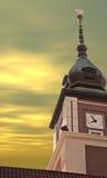 centrera polerade tornet för hanen det copernicus Royaltyfri Bild
