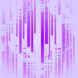Centrerat purpurfärgat skinande suddigt för rektangelmodell stock illustrationer