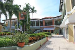 centrez les achats de la Floride Photographie stock libre de droits