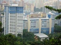 Centri di affari a Singapore Immagini Stock Libere da Diritti