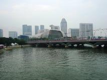 Centri di affari a Singapore Fotografia Stock