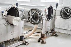 Centrifuga automatica per lavare dei tappeti Immagini Stock