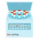 Centrifuga del laboratorio illustrazione vettoriale