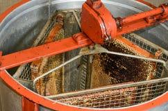 Centrifugadora de la miel Fotos de archivo libres de regalías