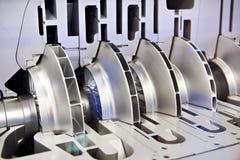 Centrifugal kompressor arkivfoto