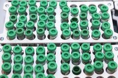 Centrifuge tubes Stock Photo
