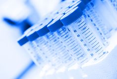 Free Centrifuge Tubes In The Lab Royalty Free Stock Photos - 8452188