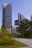 Centrl Walk at Shenzhen City Royalty Free Stock Images