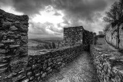 Centro的Historico,朗达,西班牙一个堡垒 免版税库存照片