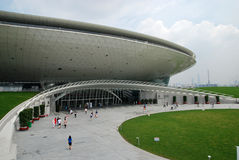 Centro 2010 de las artes interpretativas de la expo del mundo de Shangai Imagen de archivo