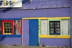 Centro abandonado do centro de dia Imagem de Stock Royalty Free
