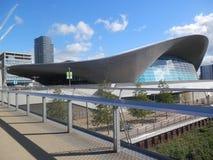 Centro acquatico del parco olimpico fotografia stock libera da diritti