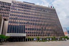 Centro administrativo de Alpujarra en la ciudad de Medellin foto de archivo libre de regalías