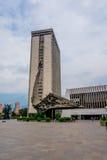 Centro administrativo de Alpujarra en la ciudad de Medellin imagenes de archivo