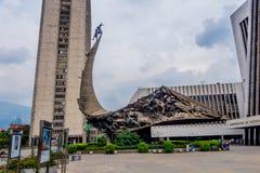 Centro amministrativo di Alpujarra nella città di Medellin Fotografia Stock