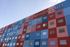 Centro Amsterdam del cancro di Vumc in pieno fotografia stock
