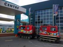Centro antártico internacional Christchurch - Nueva Zelanda imagenes de archivo