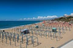 Centro beach in Santa Cruz, Portugal. Royalty Free Stock Image