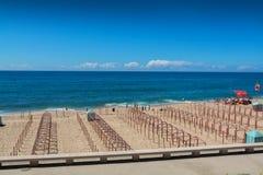 Centro beach in Santa Cruz, Portugal. Stock Photos