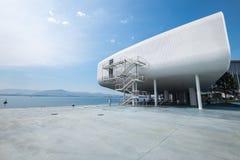 Centro botÃn w Santander, Cantabria, Hiszpania na głównym dennym emb Zdjęcia Stock